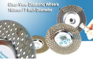 Patented Clear View Grinding Wheel Medium