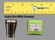 ER32 Collet Set - Extension Standard Size Range