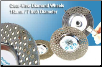 Patented Clear View Grinding Wheel Fine