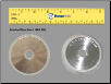 Grinding Wheel SDC#230 for Split Point Port Side