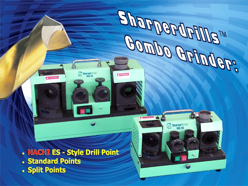 SharperDrills Combo Drill Sharpener